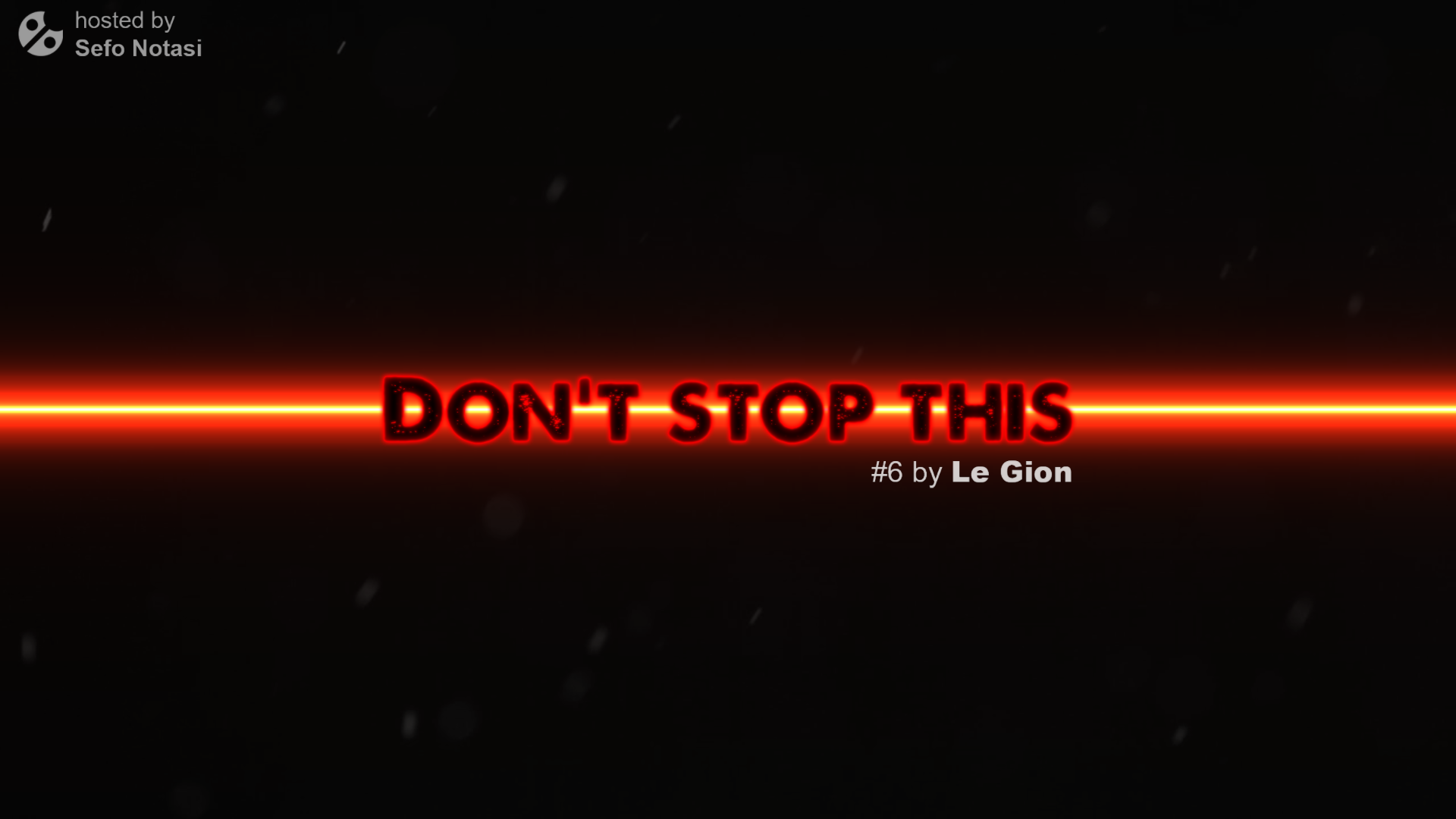 Don't stop this 2